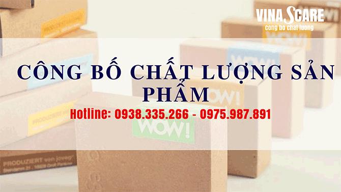 Dịch vụ công bố chất lượng nhanh chóng tại quận Gò Vấp
