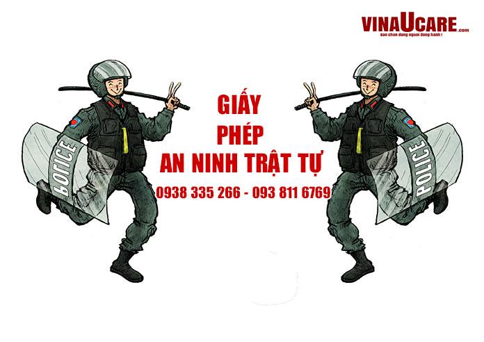 Dịch vụ giấy phép an ninh trật tự nhanh nhất tại Hồ Chí Minh