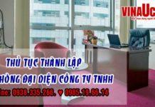 Thu tuc thanh lap van phong dai dien cong ty tnhh