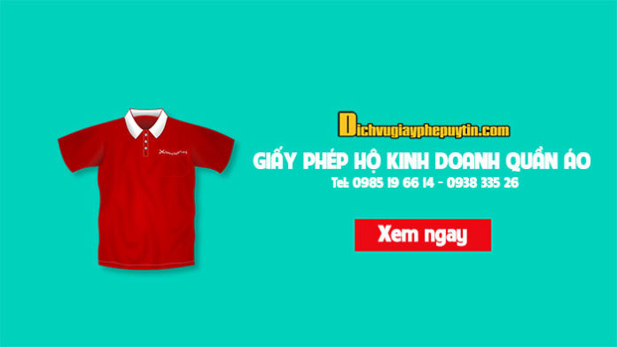 Buôn bán quần áo cần đăng ký giấy phép kinh doanh không?