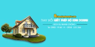 Hướng dẫn thay đổi địa chỉ của hộ kinh doanh cá thể rút gọn dễ hiểu