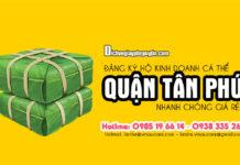 Dịch vụ đăng ký hộ kinh doanh giá rẻ tại Quận Tân Phú