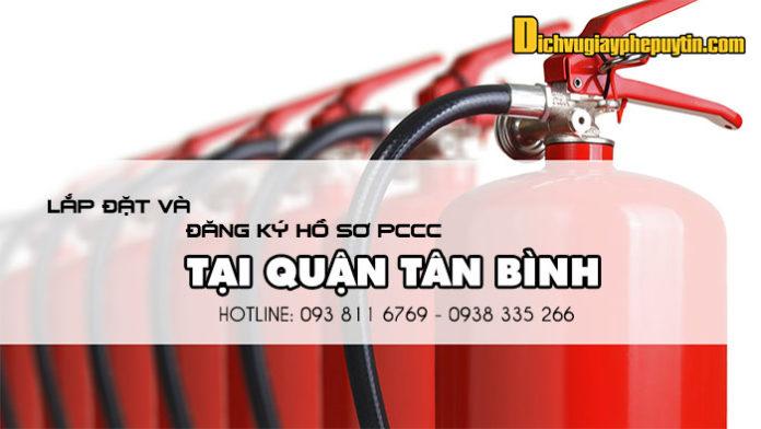 Dịch vụ tư vấn thiết kế lắp đặt pccc và hồ sơ tại quận Tân Bình