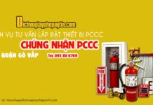 Dịch vụ thiết kế lắp đặt thiết bị pccc và hồ sơ pccc tại quận Gò Vấp