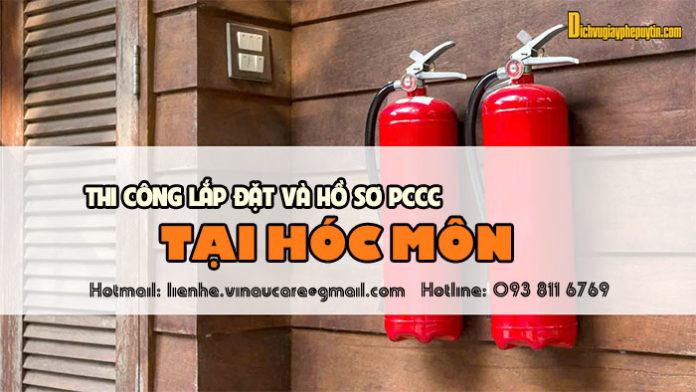 Dịch vụ tư vấn thiết kế lắp đặt pccc và hồ sơ pccc tại Huyện Hóc Môn
