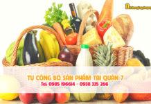 Dịch vụ tự công bố sản phẩm thực phẩm tại quận 7 nhanh chóng