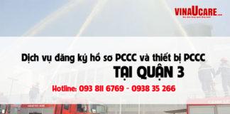Dịch vụ tư vấn thiết kế lắp đặt pccc và hồ sơ pccc tại Quận 3