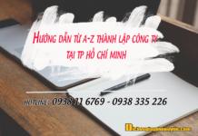 Hướng dẫn từ a-z thành lập doanh nghiệp