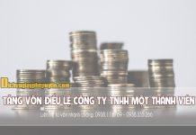 Tăng-vốn-điều-lệ-công-ty-TNHH-một-thành-viên