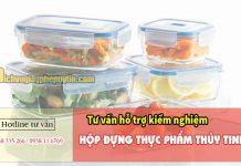 Tư vấn hỗ trợ kiểm nghiệm hộp đựng thực phẩm