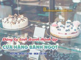 Hướng dẫn đăng ký thành lập cửa hàng bánh ngọt - dichvugiayphepuytin