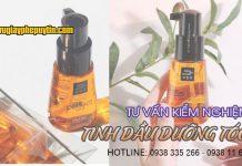 Tư vấn kiểm nghiệm tinh dầu dưỡng tóc